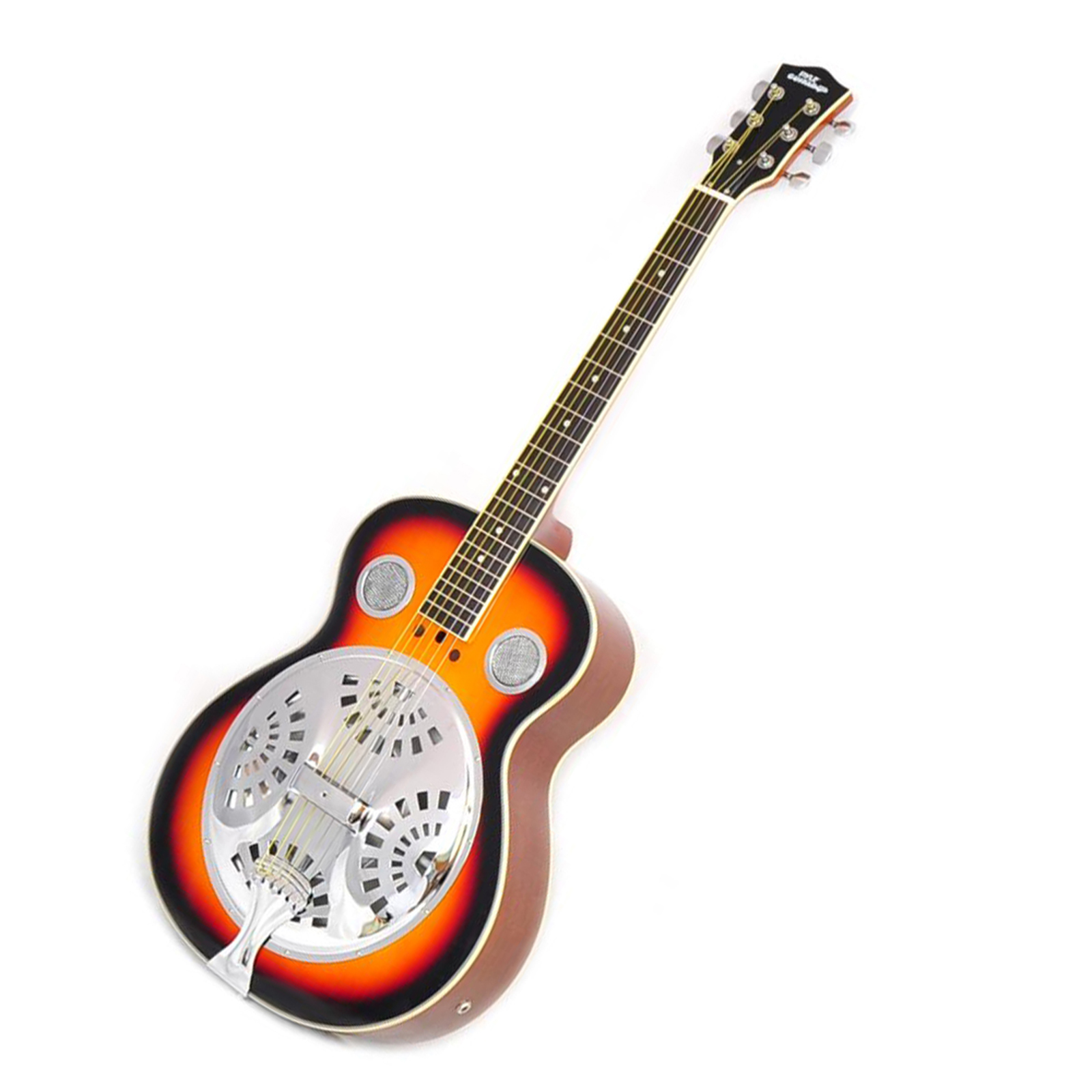6-String Acoustic Resonator Guitar, Full Scale Resophonic, Accessory Kit Included by Pyle Pro