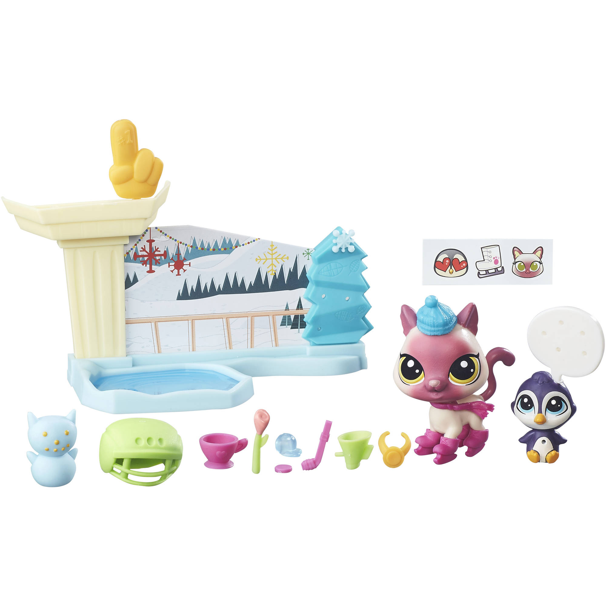 Littlest Pet Shop Ice Skating Playset