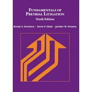 Fundamentals of Pretrial Litigation (American Casebook Series) by Roger Haydock