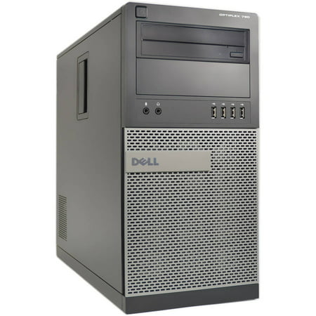 Refurbished Dell Silver 790 Desktop Pc With Intel Core I5 Processor  4Gb Memory  1Tb Hard Drive And Windows 10 Pro  Monitor Not Included