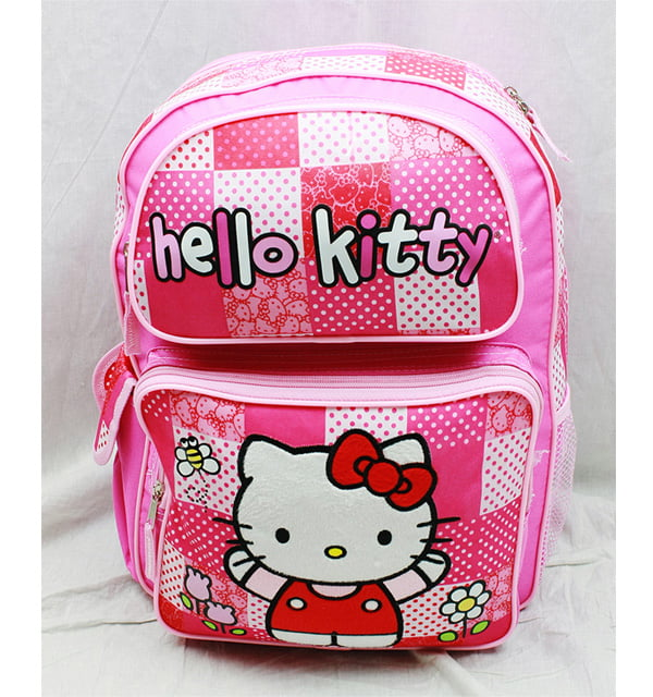 Backpack Hello Kitty Pink Red Box (Large School Bag) New Book Girls 82414 by FAB Starpoint