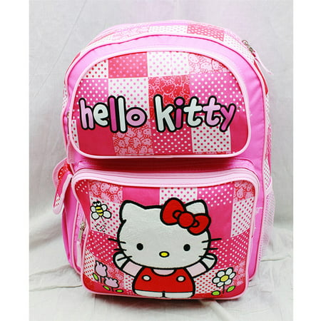 Backpack - Hello Kitty - Pink/Red Box (Large School Bag) New Book Girls 82414