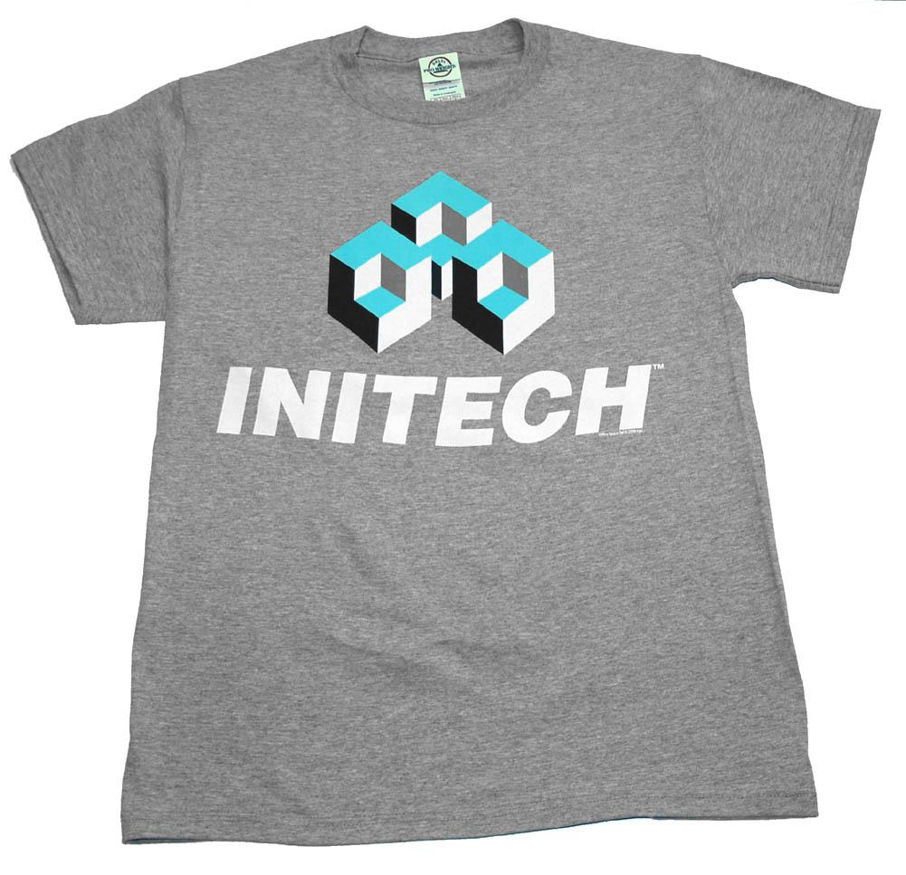Office Space Mike Judge Initech Company Logo Ripple Junction Adult T-Shirt Tee