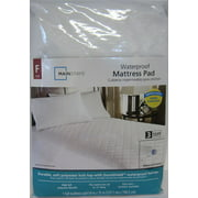 Mainstays Waterproof Fitted Polyester Mattress Pad (Full)