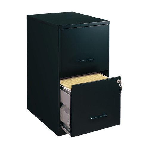 CommClad 2 Drawer Smart Filing Cabinet