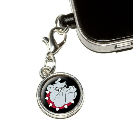 Bulldog Head Charm (Bulldog Dog Mobile Phone)