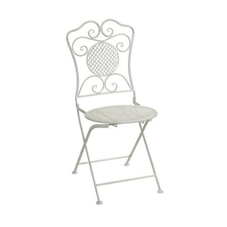 Fine Melrose International Metal Folding Patio Bistro Chair Bralicious Painted Fabric Chair Ideas Braliciousco