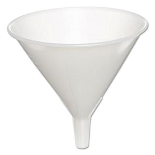 "Adcraft HZ-832 Medium Duty Plastic Funnels, Frost White, 5"" by Adcraft"
