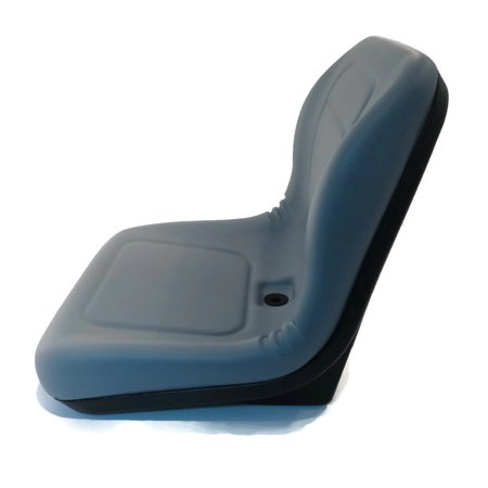 New Grey HIGH BACK SEAT for Hustler ZTR Zero Turn Lawn Mower Garden Tractor by The ROP