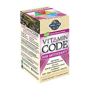 Vitamin Code Antioxydants