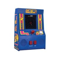 Schylling Miniature Ms. Pac-Man Retro Arcade Video Game - Battery Operated