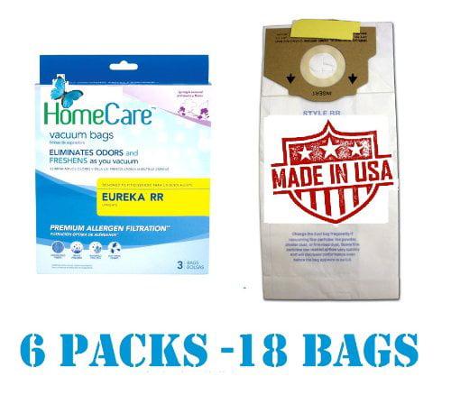 18 Fresh Breeze Eureka RR Upright Vacuum Bags, 6 Pks of 3...