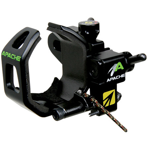 New Archery Products Apache Right Handed Arrow Rest, Black