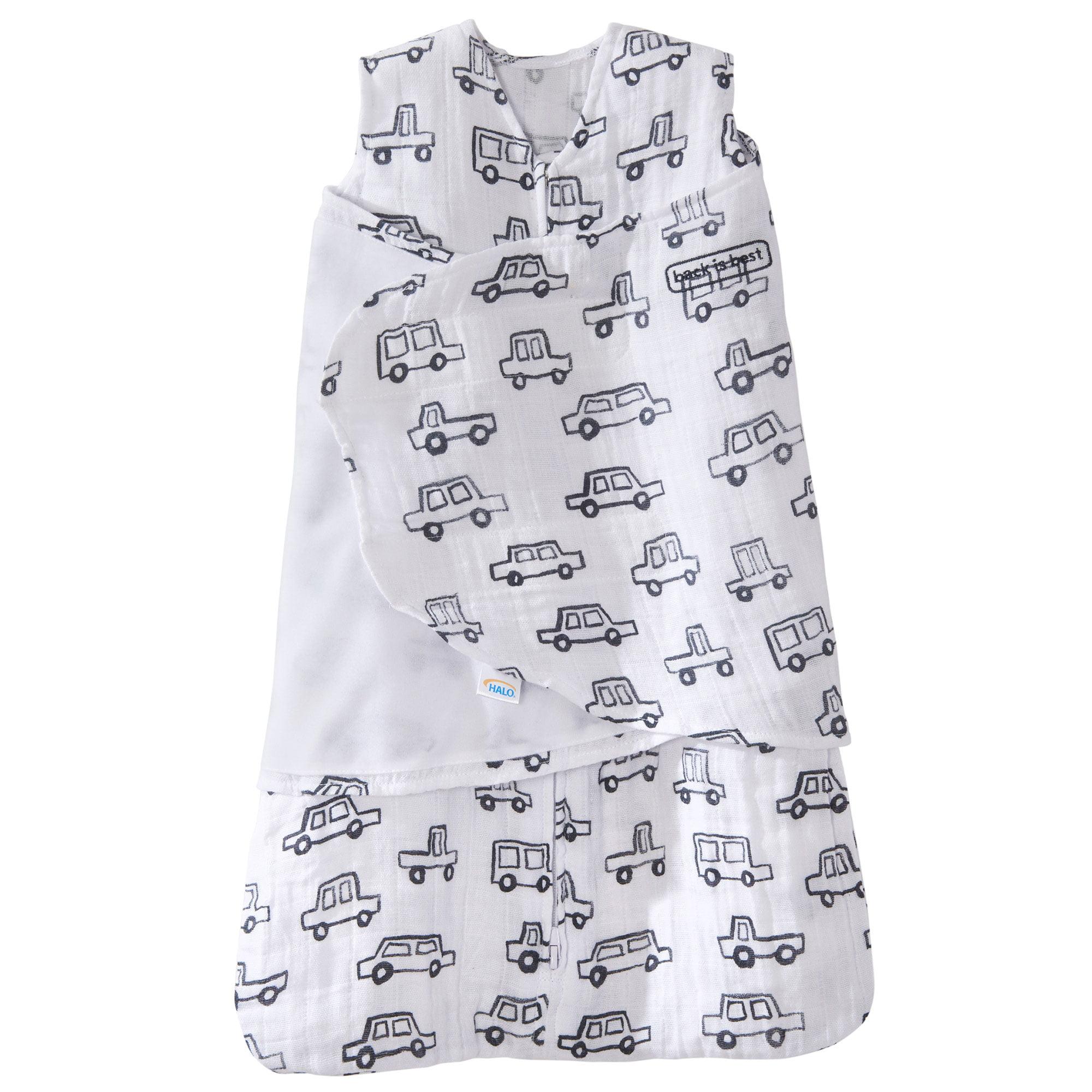 Llama Print Small Halo 100/% Cotton Muslin Sleepsack Swaddle Wearable Blanket