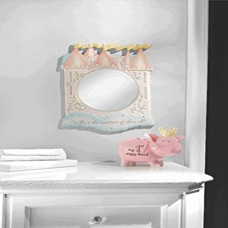 Princess Wall Mirror (Once Upon a Time - Princess Castle Frame Mirror 'Sweetest of them all')
