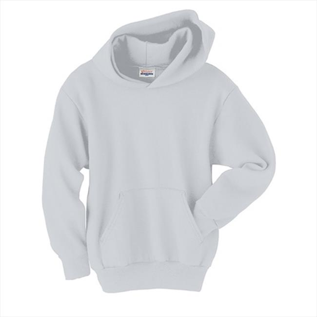 Hanes P473 Youth Comfort Blend Ecosmart Pullover Hoodie Size - Small - Ash - image 1 of 1