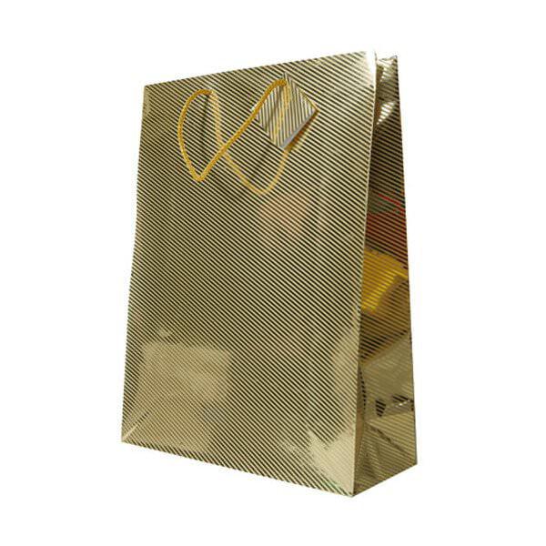 JAM Gift Bag - Diagonal Pinstripe Shopping Bags - XXX Lar...