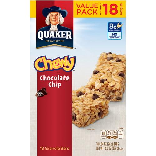 UPC 030000450178 - Quaker Chewy Granola Bars - Chocolate ... Quaker Chewy Granola Bars Barcode