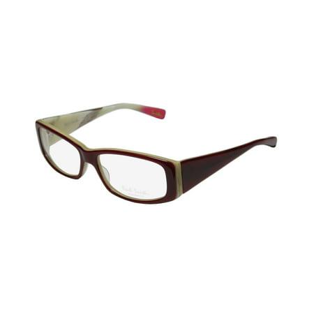 New Paul Smith 416 Womens/Ladies Designer Full-Rim Red Stunning Upscale Vision Care Frame Demo Lenses 53-15-130 Eyeglasses/Eye (Red Rimmed Glasses)