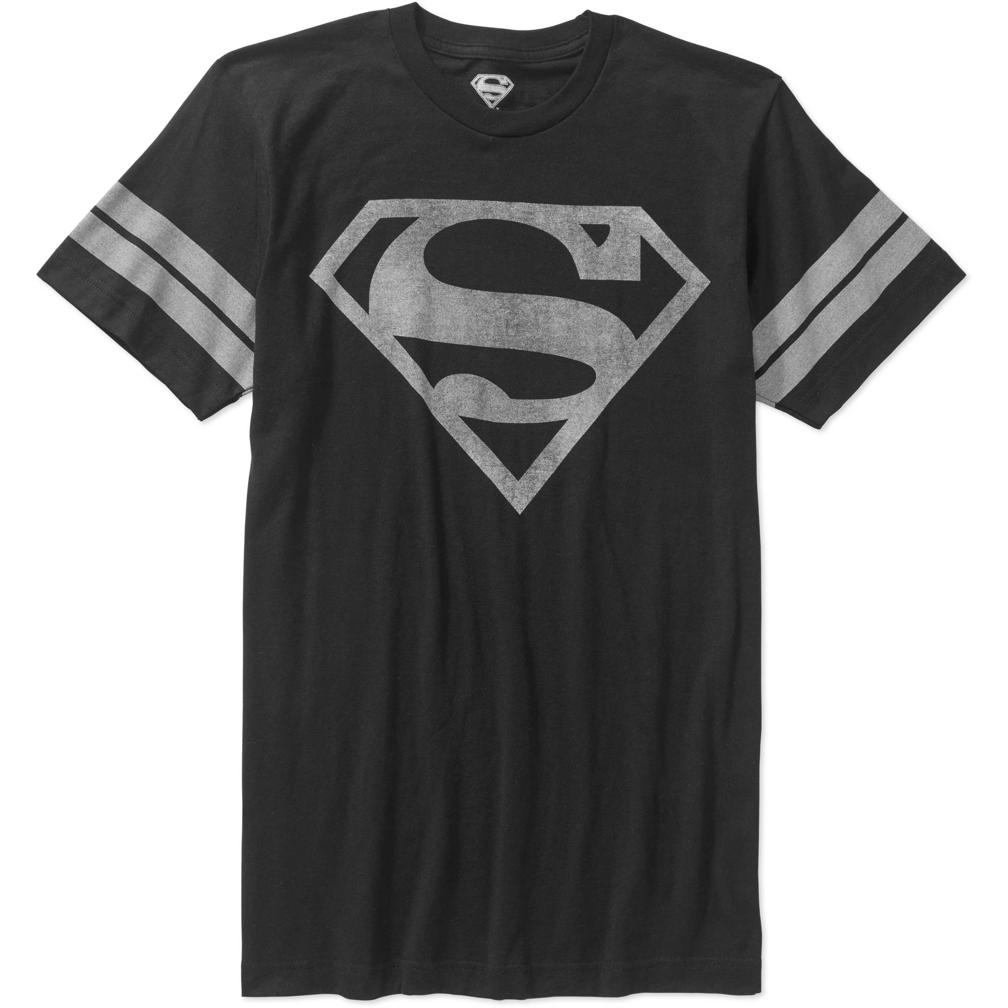 Superman Men's Logo Graphic Tee