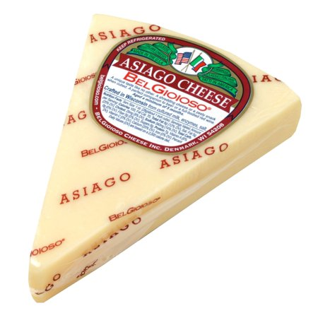 Lemon Asiago - Asiago Cheese, approx. 8oz wedge