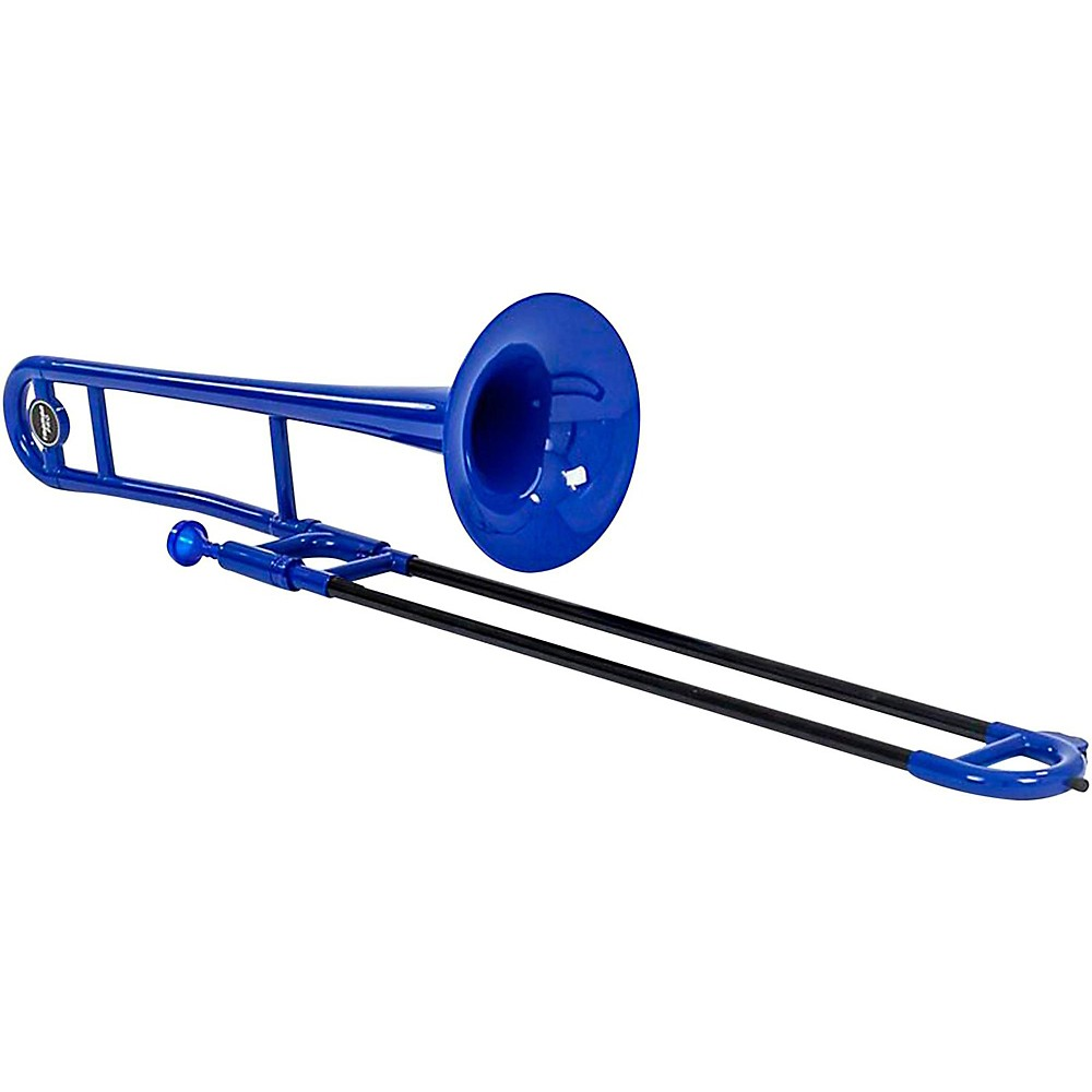 Allora ATB100 Aere Series Plastic Trombone Blue by Allora