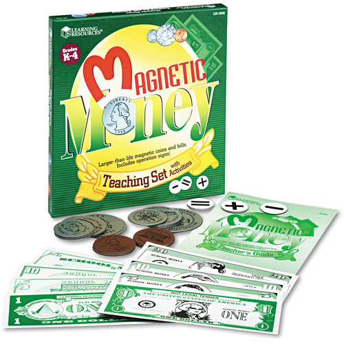 Learning Resources Magnetic Money Demo Set