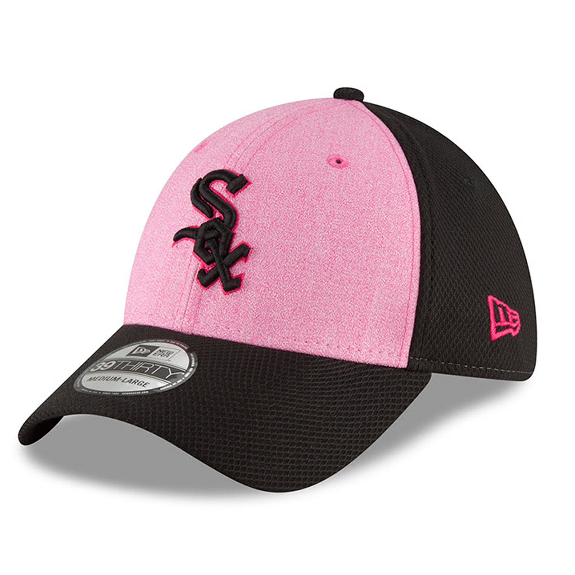 Chicago White Sox New Era 2018 Mother's Day 39THIRTY Flex Hat - Pink
