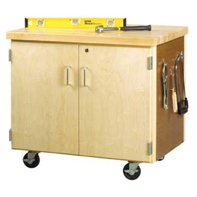Diversified Woodcrafts WMSC-3135 Mobile Storage Cabinet -...