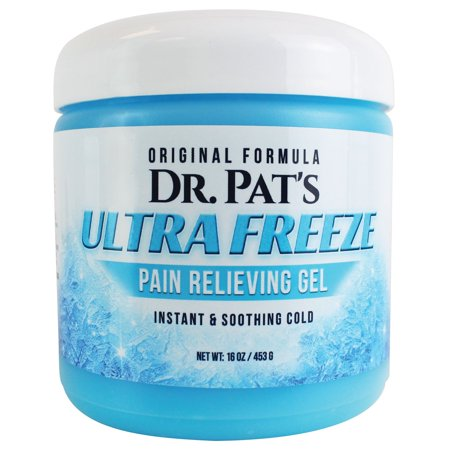 Pain Relief Cream - Dr. Pat's Topical Analgesic Blue Gel - Therapy Rub for Arthritis, Sciatica Nerve, Back Pain, Plantar Fasciitis, Chronic Neck, Muscle Soreness, Joint, Thigh, Knee, Foot, Hand, (Home Remedies To Treat Sciatic Nerve Pain)