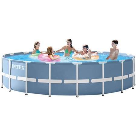 Intex 18 X 48 Quot Prism Frame Above Ground Swimming Pool