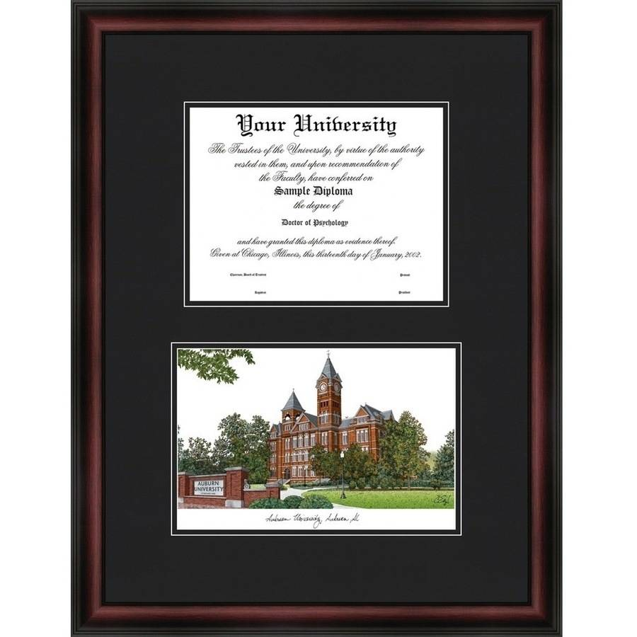 "Auburn University 13"" x 17"" Diplomate Diploma Frame"