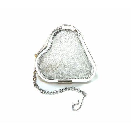 Stainless Steel Heart Tea Infuser, 2-Inch, Easily brew the most flavorful tea with this heart shaped tea infuser By