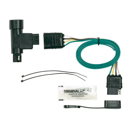 Hopkins Towing Solution 40105 Plug-In Simple Vehicle To Trailer Wiring  Harness