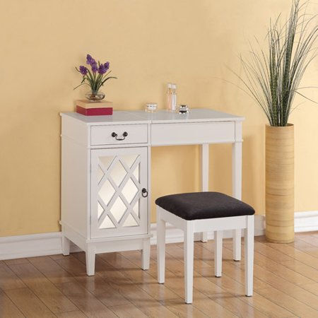 linon home decor lattice vanity set multiple colors walmartcom - Linon Home Decor