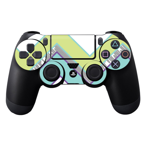 Skin Decal Wrap for Sony PlayStation DualShock 4 Controller Pastel Chevron