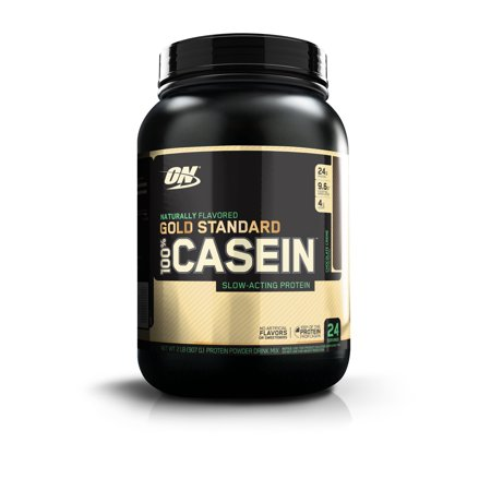 Optimum Nutrition 100% Natural Casein GS, Chocolate, 2 lb