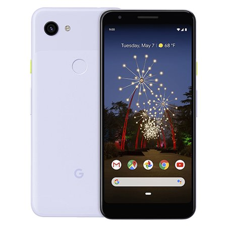 Google - Pixel 3a with 64GB Memory Cell Phone (Unlocked) - Purple
