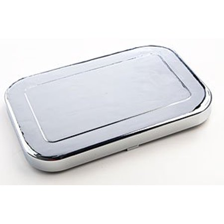 JEGS 631505 Chrome Master Cylinder Cover