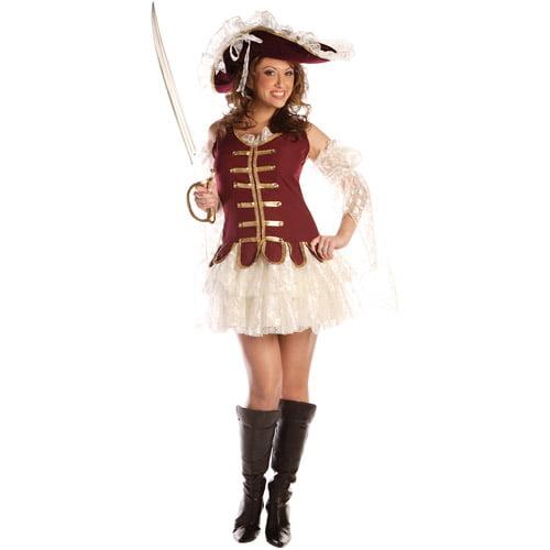 Treasure W Hat Adult Halloween Costume
