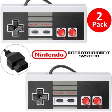2Pcs Classic Gaming Controller Gamepad For Nintendo 8 Bit System