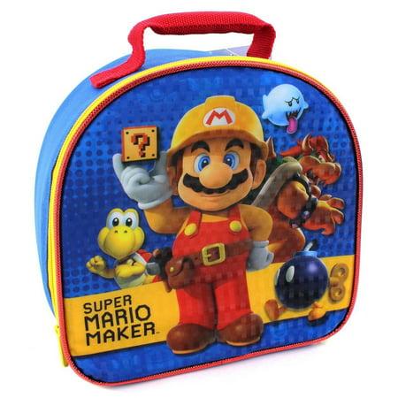 Squishy Super Mario Maker 1 : Super Mario Soft Lunch Box (Super Mario Maker) - Walmart.com