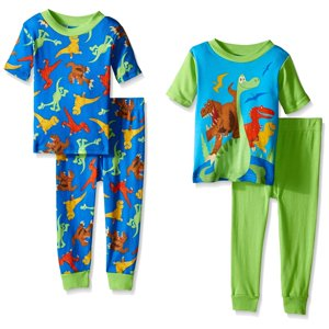 Disney Boys Prehistoric Pals 4-Piece Pajama Set