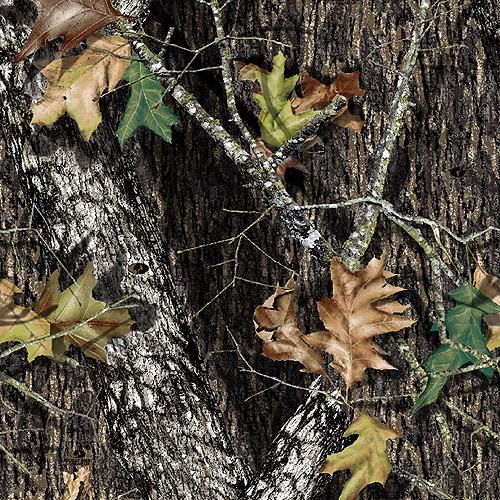 "Creative Cuts Cotton 44"" wide, 2 yard cut fabric, Camouflage Print Brown"