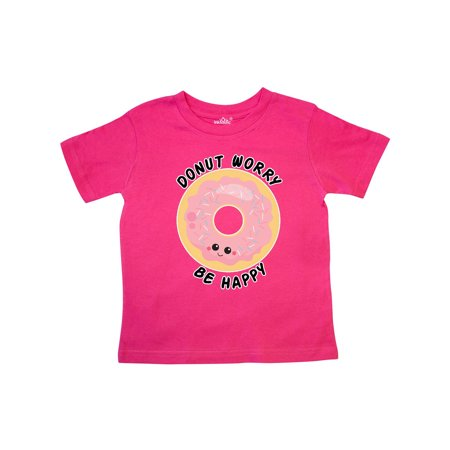 donut worry be happy Toddler T-Shirt