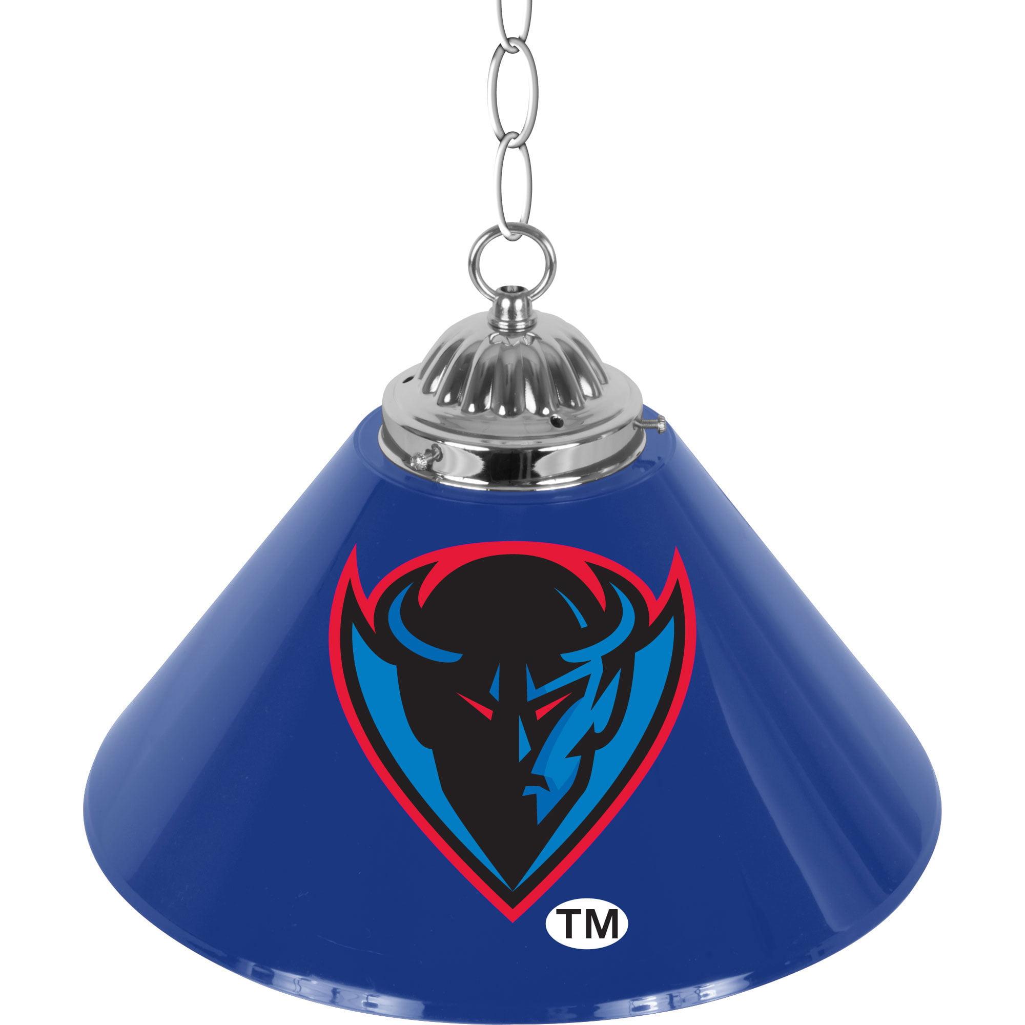 NCAA DePaul University Single Shade Bar Lamp - 14 inch