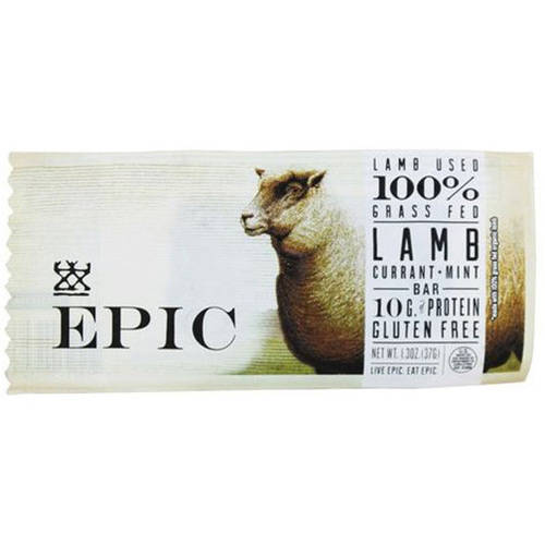 Epic Current Mint Lamb Bar, 1.5 oz, (Pack of 12) by