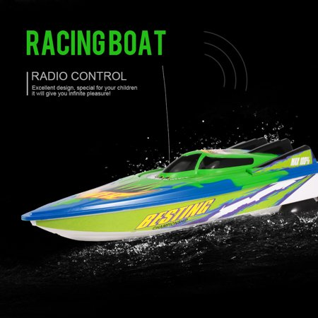 Electric Rc Boat Motors - RC Boat High Speed Boat radio controlled motor boat, 20km/h remote controlled toy gifts for children and beginner, remote controlled boat for lakes and pools