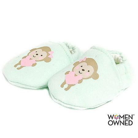 363f88f625268 Newborn Baby Girl Monkey Zoomer Shoe
