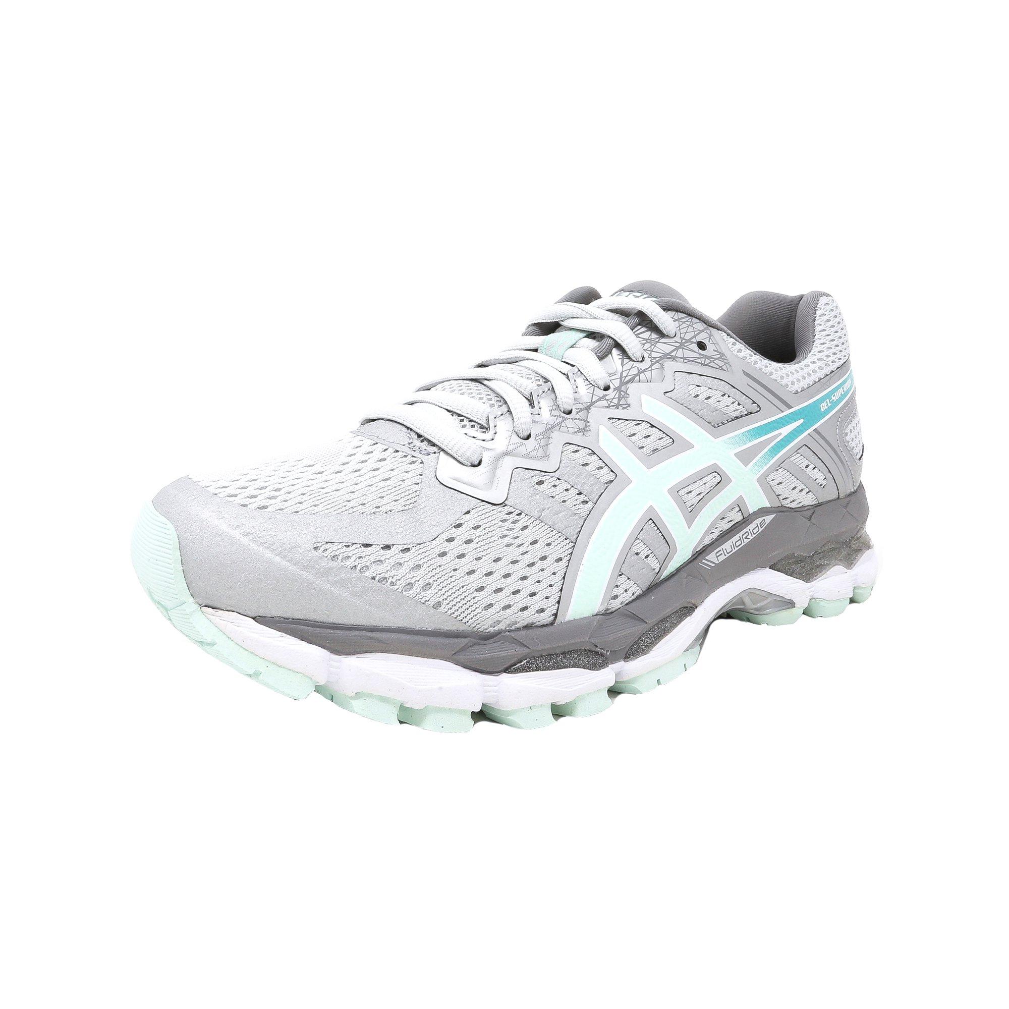 318f045514ea Asics Women s Gel-Superion Smoke Blue   Lake Aruba Ankle-High Running Shoe  - 9.5M